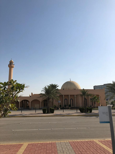 Arabian Winters: A homage to the arrivals and departures in Dhahran