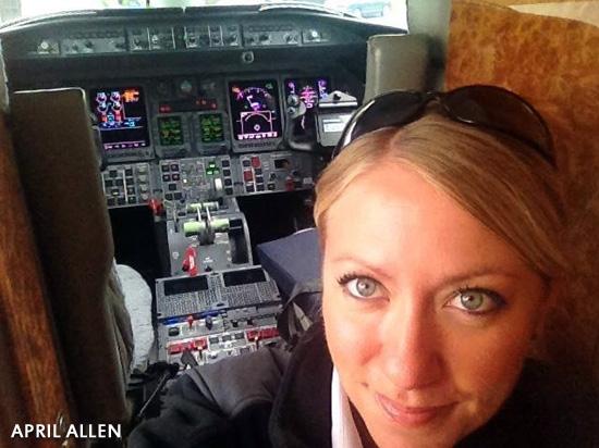 April Allen Promoted to Reserve Flight Captain