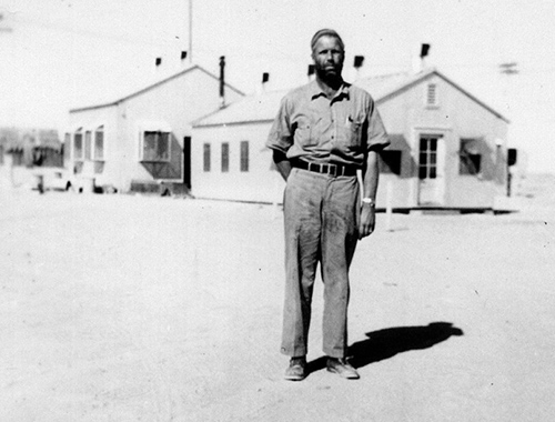 John Ames at Manifa 1941