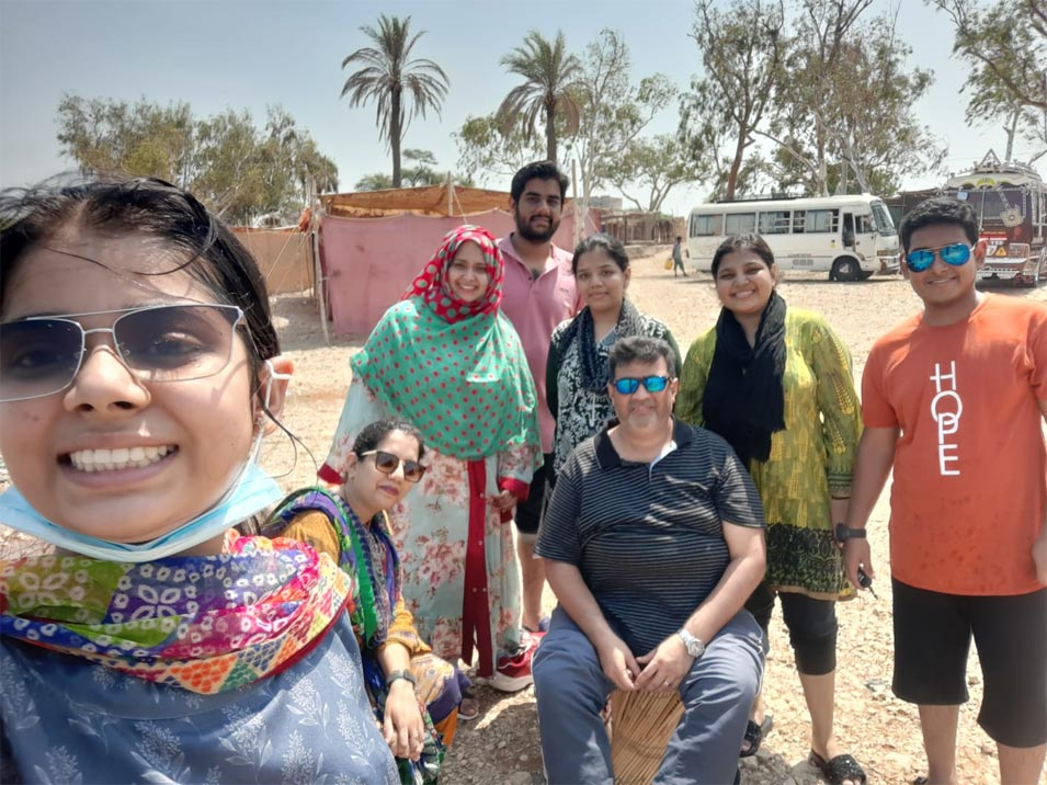 A Family Trip to Keenjhar Lake