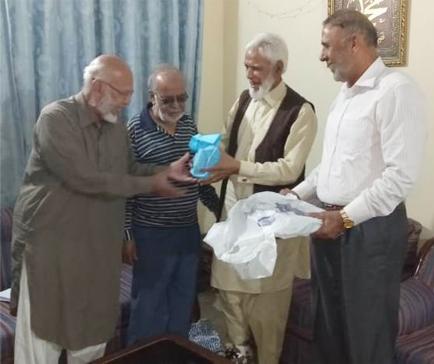 Amjad Hussain Visit to SAEEA Karachi