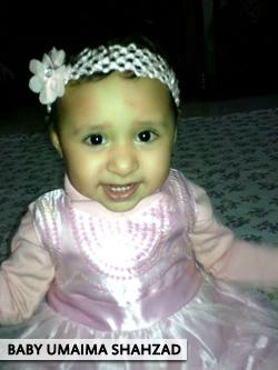 Baby Umaima Shahzad