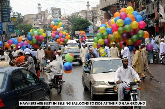 Eid ul Fitr Celebrations in Karachi