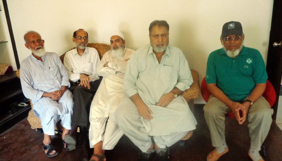 Engr. Col. (R) Rifat Hayat NED69ers Mechanical visited Karachi - May 2016