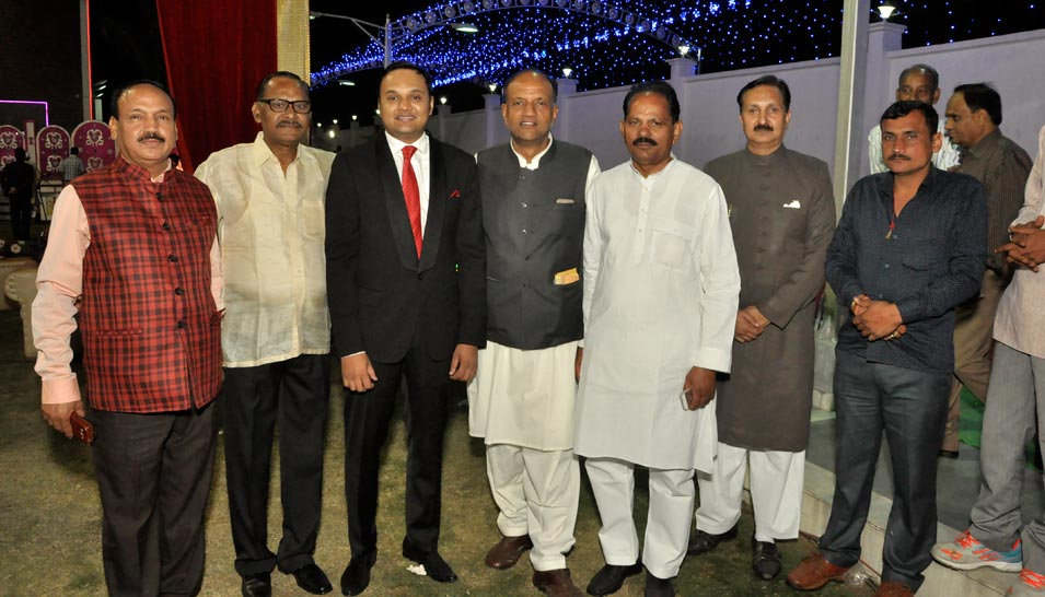 Engr. Iqbal Ahmed Khan Attend a Family Wedding in Meerut