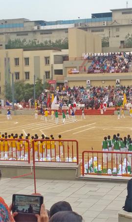 Generation's School - Juniors Athletic Sports Day
