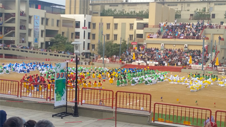 Generation's School - Juniors Athletic Sports Day