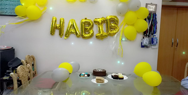 Habib Ur Rehman Celebrates 16th Birthday