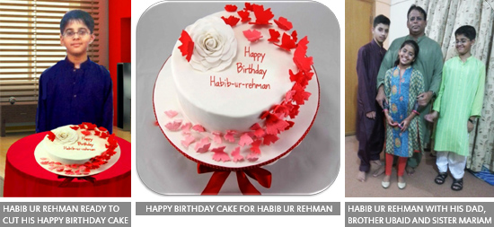 Habib ur Rehman Celebrated His 11th Happy Birthday