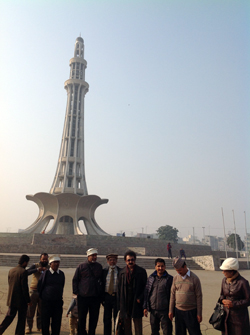 Engr. Iqbal Ahmed Khan – Visit to Lahore