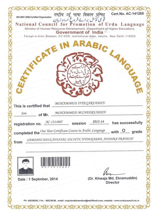 My Path to Learn Arabic Language