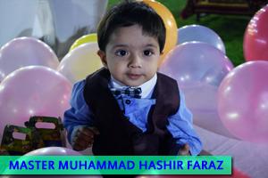 Master Muhammad Hashir Faraz