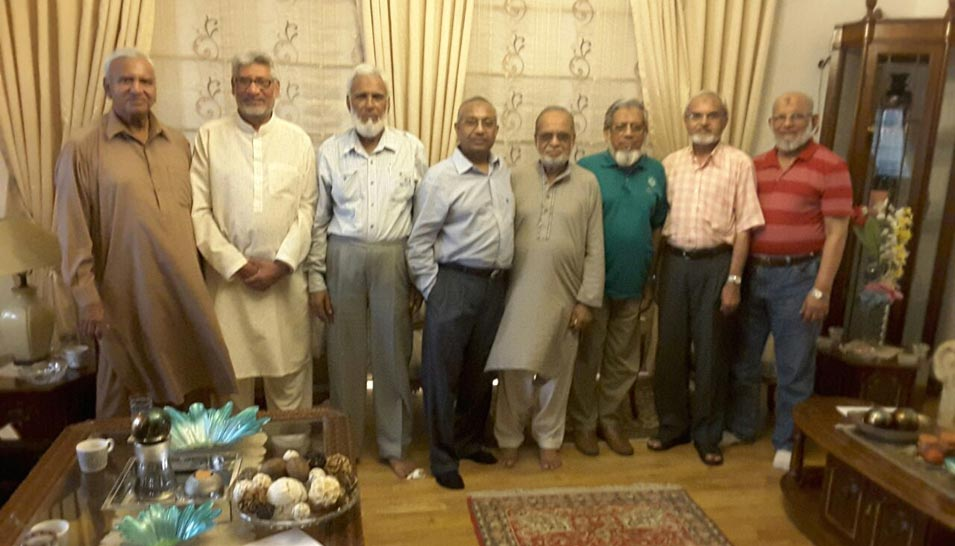 Minutes of Meeting held on May 14, 2016 at Asif Mirza's House