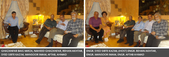 NED69ers-Mini Reunion Held at Engr. SS Kazim's Residence in Canada