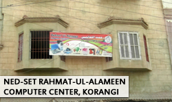 NED-SET Rehmat ul Alameen Welfare Organization