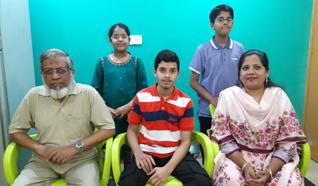 Obaid Ur Rehman Celebrated His Matriculation Success