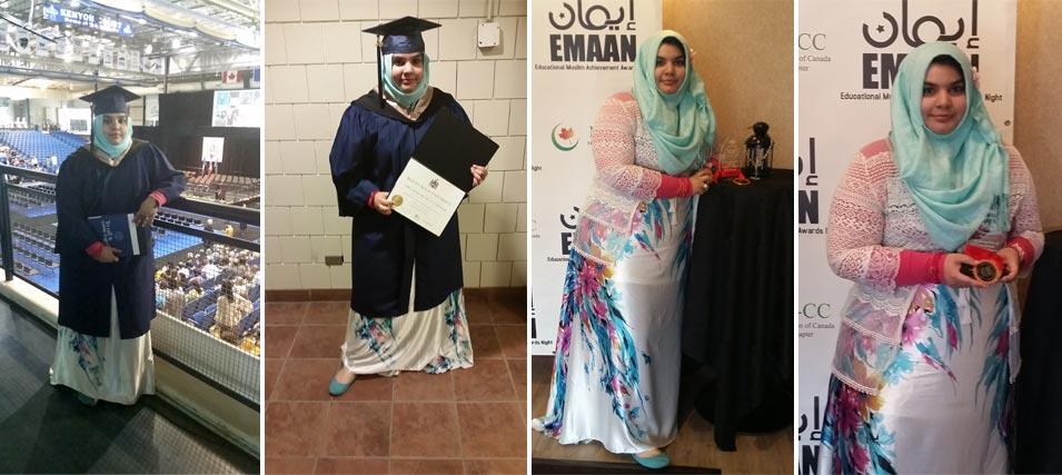 Omaymah Mumtaz Farooqi Graduates