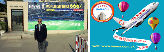 SAEEA 12th Reunion Function at Arena Club in Karachi