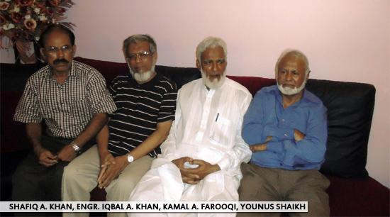 Shafiq A. Khan, Engr. Iqbal A. Khan, Kamal A. Farooqi, SAEEA - Yousus Shailh