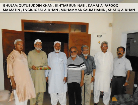 A group of SAEEA Office Holders with Mr. Mumtaz Ahmad