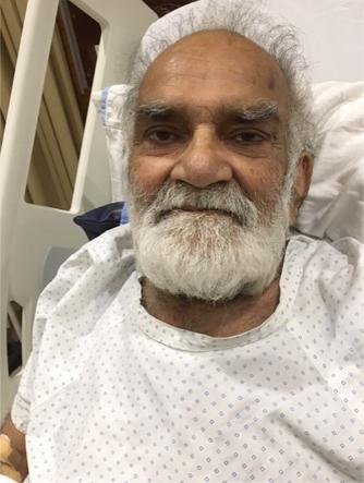 SAEEA Visits to the Ailing Member - Saeed Bin Arif