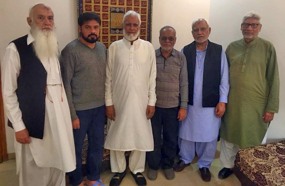 SAEEA Team Visit to Late Saqib Masood Ansari