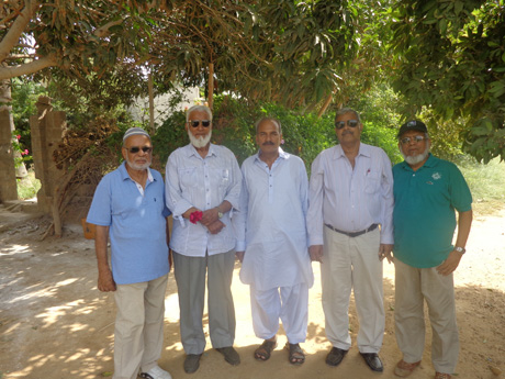 SAEEA Visit to Farm House at Gharo