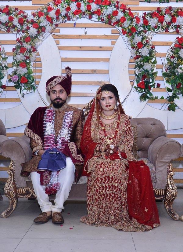 Shabeel A. Khan Weds Sahrish T. Saleem