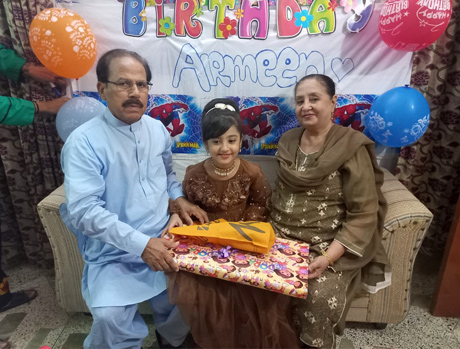 Shafiq A. Khan Celebrated His 74th Birthday