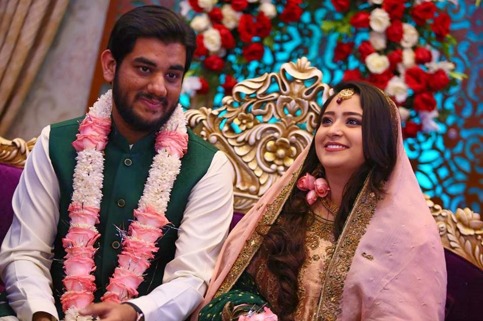 Taha Ahmed Khan Weds Samia Siddiqui