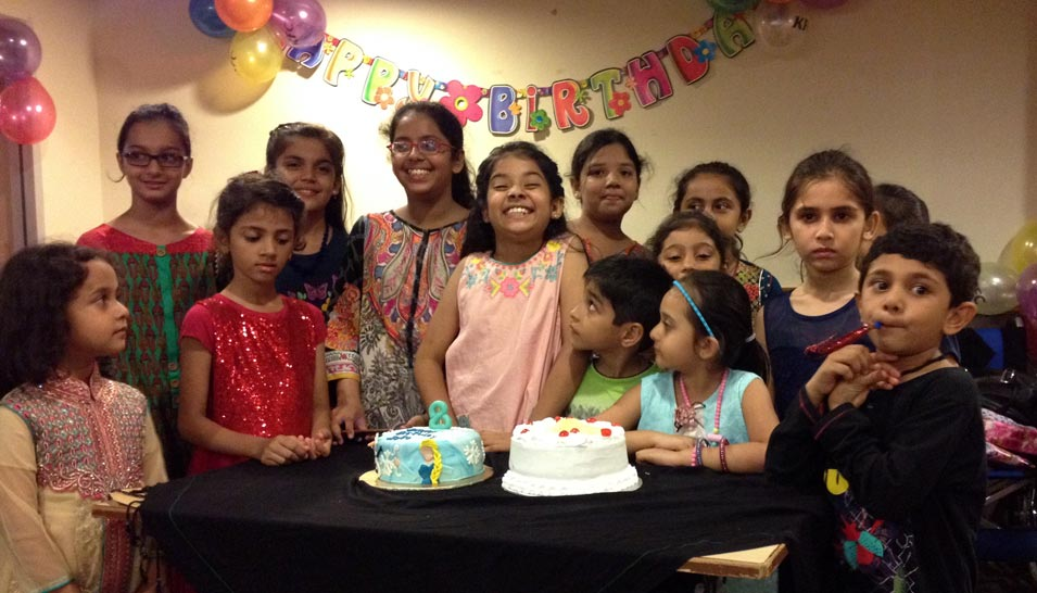 Zara Imran Celebrated Her 8th Happy Birthday