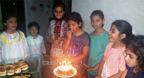 Zoya Imran Celebrated Her 10th Happy Birthday
