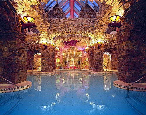 The Omni Grove Park Inn's Amazing Subterranean Spa