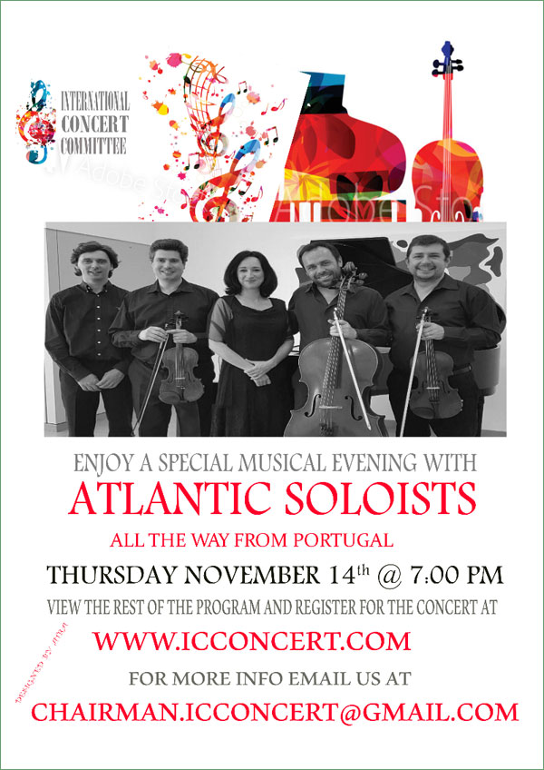 ICC - Atlantic Soloists Concert
