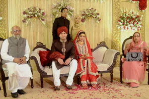 Nikah Ceremony for Wasiqa Akhtar