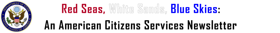 American Citizens Services Newsletter