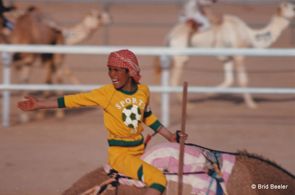 Dancing at the Camel Races