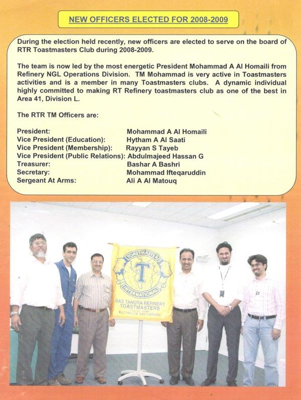 Saudi Aramco Employee - Communication and Leadership Skills