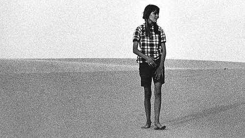 Claudia Bates-Physioc takes a walk in the isolation of the desert.