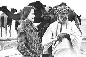 Claudia Bates-Physioc explores exotic friendship with Bedouins.