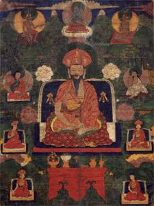 Painting of Ngawang Namgyal