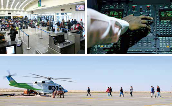 A Day in the Life of a Saudi Aramco Helicopter Pilot