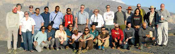 ASC Facilitates Fifth Trilateral Aramco, KFUPM, Stanford Geology Field Seminar
