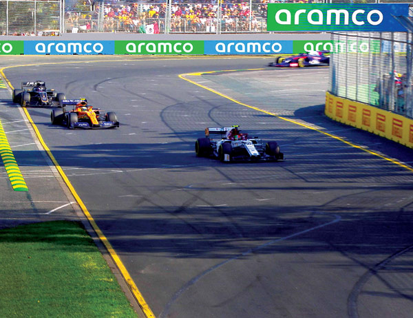 Aramco and Formula 1