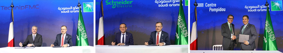 Saudi Aramco announces Commercial Cooperation Worth over $12 billion with French Companies During Saudi-France CEOs Forum in Paris