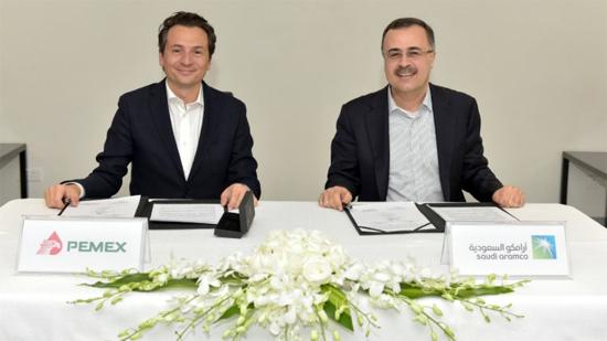 Saudi Aramco and Pemex Sign MOU
