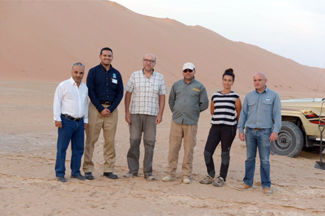 Shaybah Producing Department (SyPD) and King Abdullah University of Science and Technology (KAUST) initiate a pioneering ecological research project at Shaybah Wildlife Sanctuary
