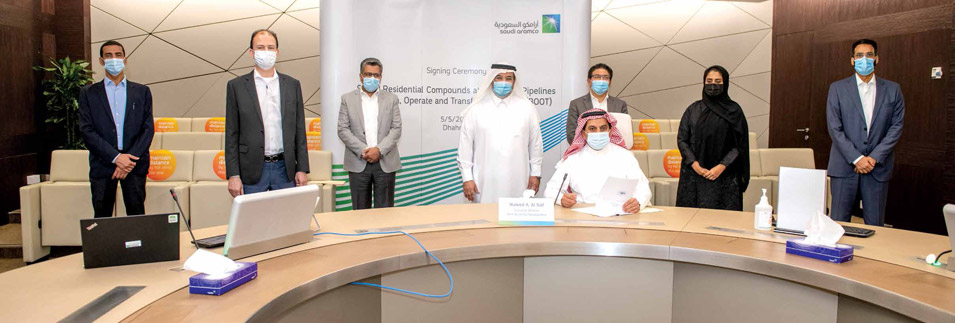 Aramco Signs Public-private Agreement for Six East-West Pipeline Residential Compounds