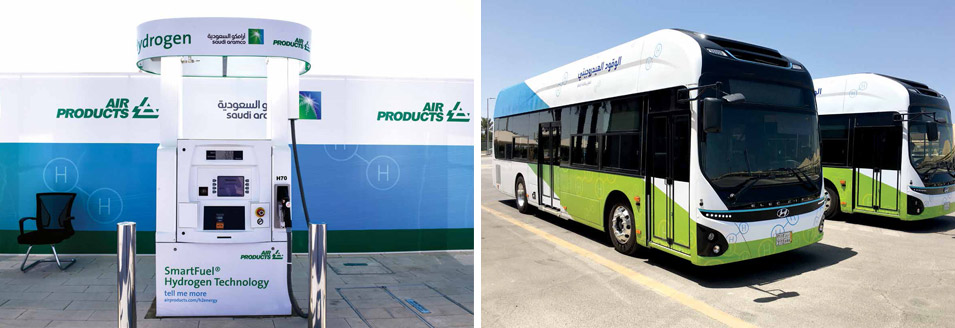 Aramco: Scaling Up Hydrogen as the Low Carbon Fuel of the Future