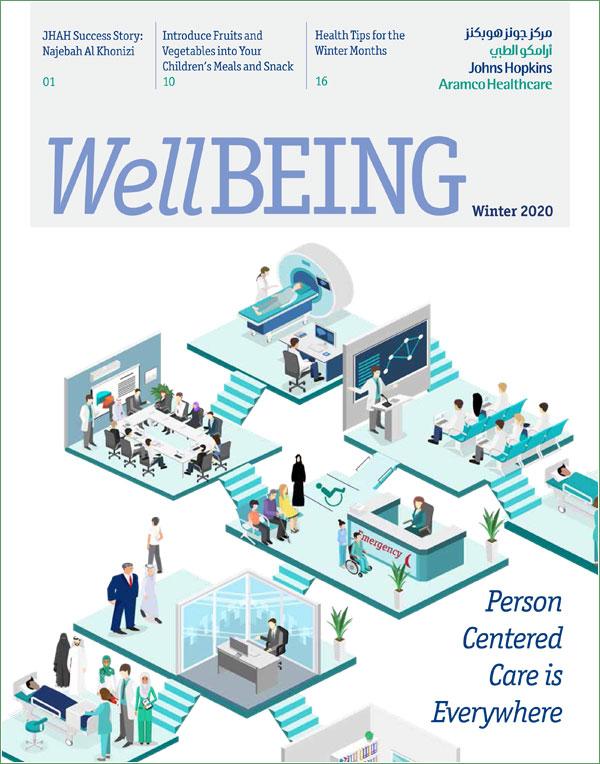 JHAH Wellbeing Magazine - Winter 2020